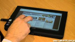 Windows 7 Tablet PC with touch - Real apps, real productive