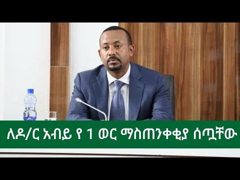 Living In Germany Give Prime Minister Abiy Warning