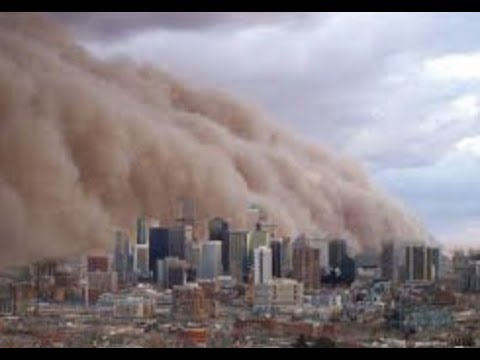 """Breaking LIVE"" Massive Dust Storms Cross The Atlantic Ocean Hits United States"""