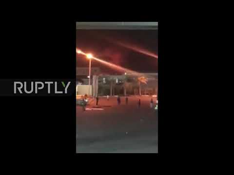 Egypt: Mobile phone footage captures chemical plant blast in Cairo