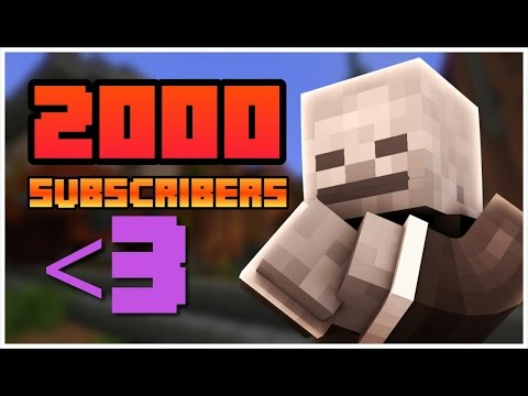 THE ROAD TO 2K SUBS !! - 2000 Subscribers Special Montage (P1) + Announcing JGMcpe W/Subs Video!