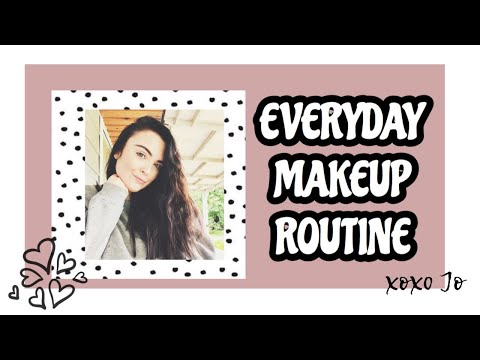 My Quick Everyday Makeup routine| Work from home thumbnail