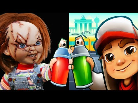 Subway Surfers BOOMBOT Vs CHUCKY Slash And Dash Gameplay HD