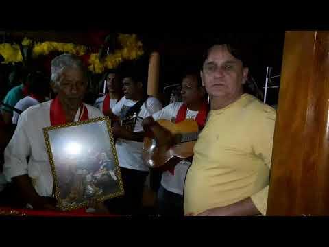 Folia de reis caminhando pela paz  da Boa Vista município de Anicuns Goiás
