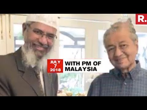 Malaysia Rewards Zakir Naik, Provides Him Land And Time Slot For His 'Peace TV' Channel