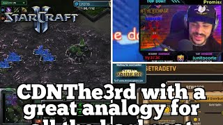 Daily Starcraft Highlights: Got ling flooded, ONE bane saved the game!
