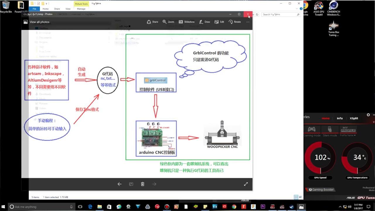 Mini cnc software and grbl youtube for Software arredamento gratis