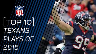Top 10 Texans Plays of 2015 | #TopTenTuesdays | NFL