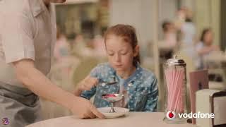 Реклама Vodafone, мороженное, 12 гигабайт