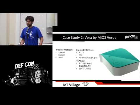 DEF CON 23 - Crypto and Privacy Village - Craig Young - Smart Home Invasion
