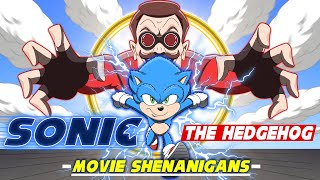 Sonic The Hedgehog Parody Animation - Movie Shenanigans!