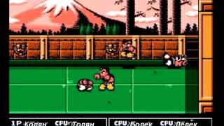 [NES] Nekketsu Kakutou Densetsu - Неудачный гоп-стоп