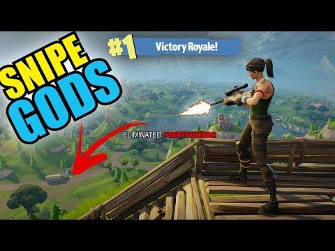 *SNIPE GODS RETURN* (Epic Snipers) Fortnite Battle Royale | Team Fresh Gaming