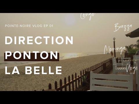 CONGO BRAZZAVILLE VLOG: DIRECTION LA COTE SAUVAGE DE POINTE-NOIRE !