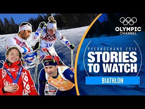 Biathlon Stories to Watch at PyeongChang 2018   Olympic Winter Games