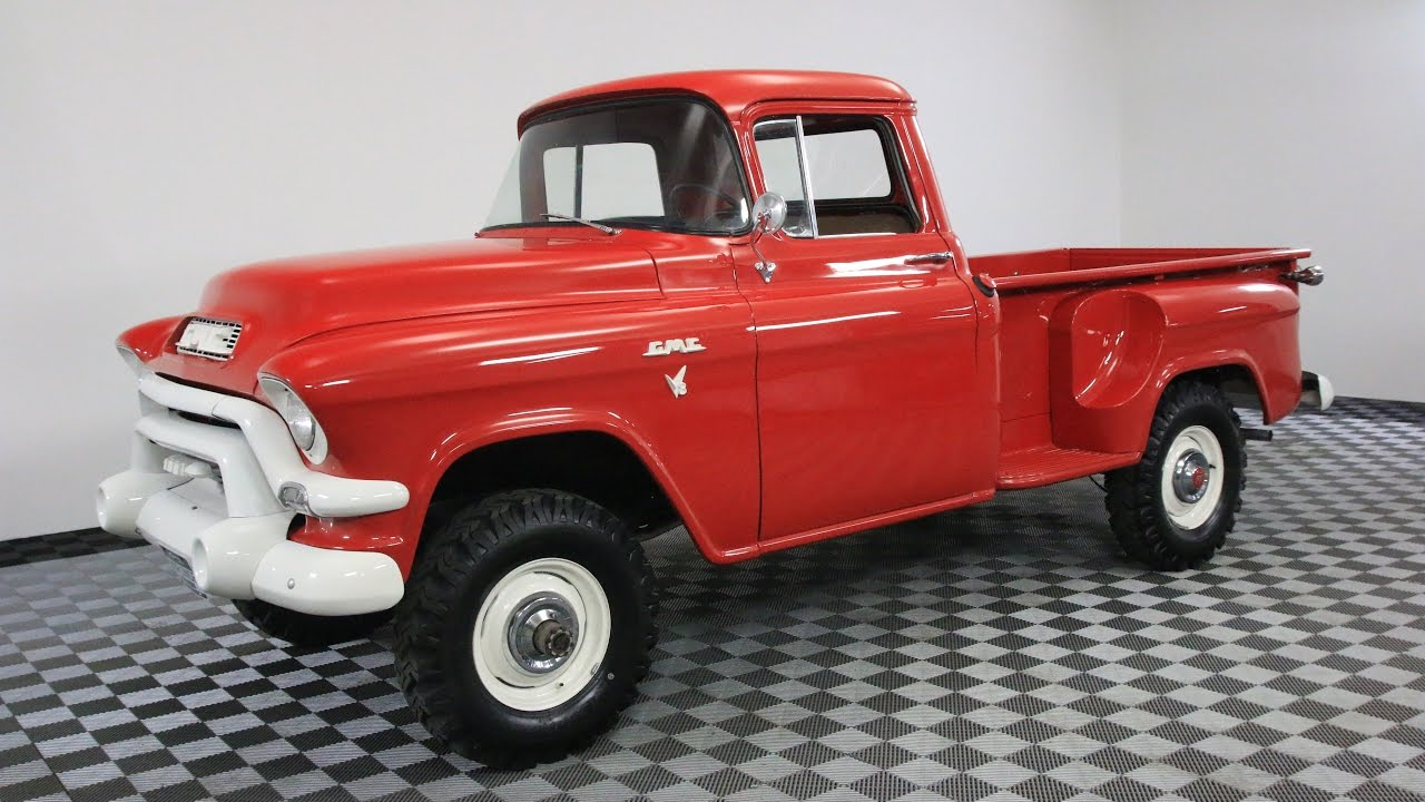 NAPCO | GMC | 1956 | VIN # px5270 | Worldwide Vintage Autos