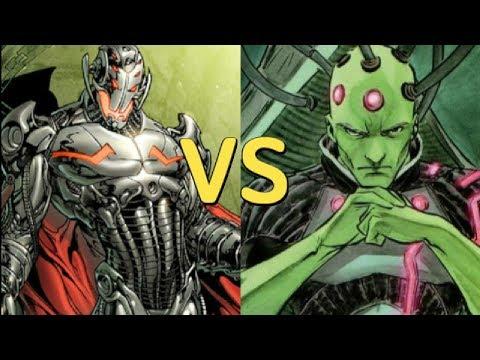 ULTRON VS BRAINIAC - quien seria el vencedor??