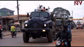 Bobi Wine ayuugumizza ekibuga Masaka, eby'okwerinda bisiibye binywevu thumbnail