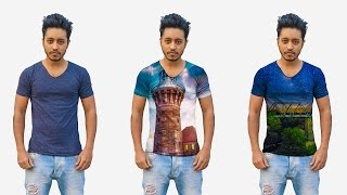 How to Put images on T - Shirts in Photoshop | Photoshop Tutorial