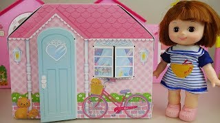 Baby doll house toys baby Doli play