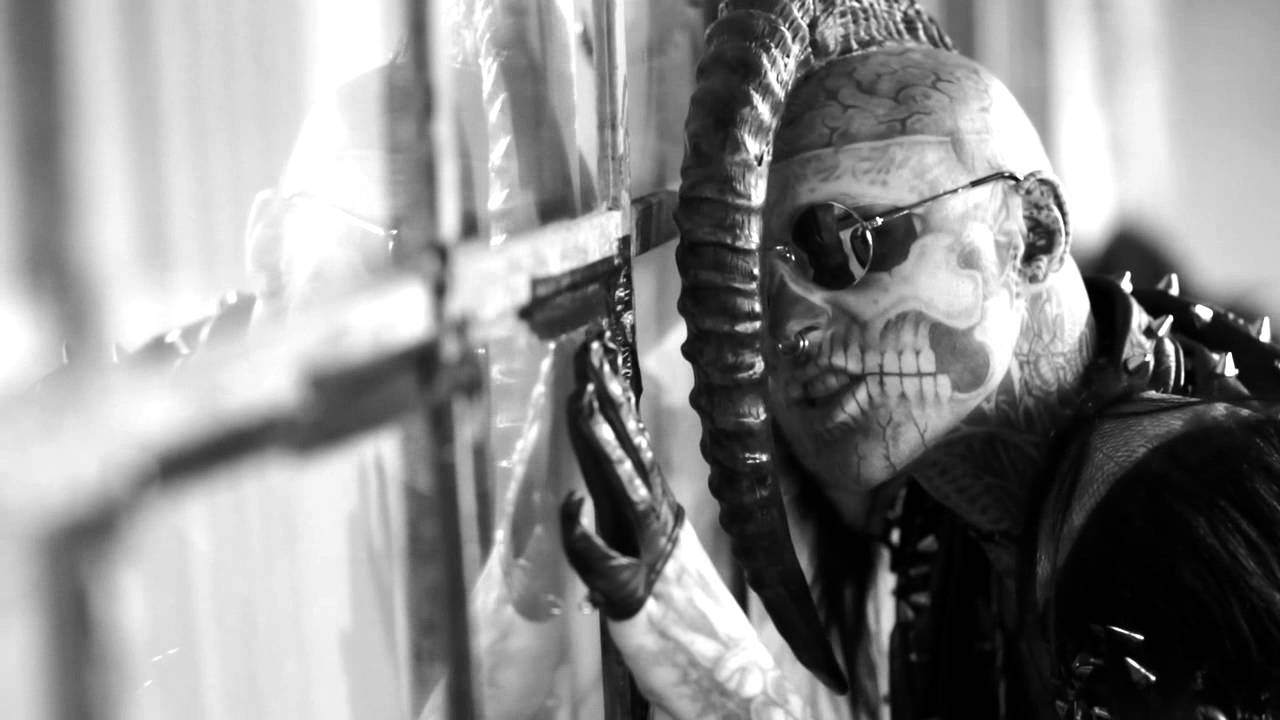 rick genest aka rico the zombie embrace everything that