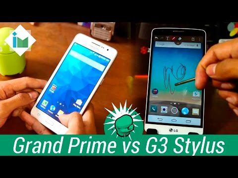 Galaxy Grand Prime vs LG G3 Stylus