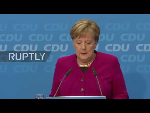Germany: 'A new chapter' - Merkel to step down as CDU head