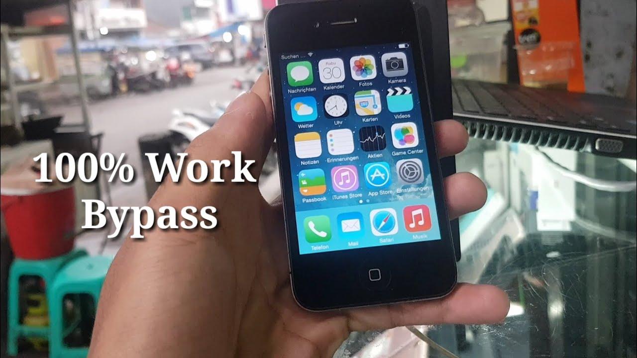Cara Mudah Membobol Kunci Aktivasi Icloud Iphone 4g 4s 5g 5s Youtube