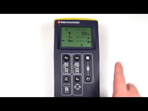 How to recall data from the PV150