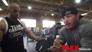 Flex Lewis -- Bicep Workout