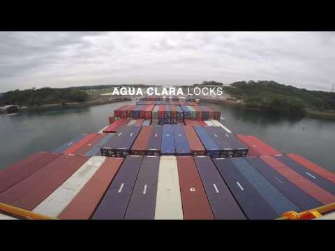 Transit through Expanded Panama Canal (Northbound)