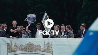 Årets spiller: Se Robert Skov blive hyldet af fansene i Fælledparken