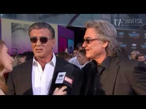 Kurt Russell Sylvester Stallone   Guardians of the Galaxy Vol. 2 Red Carpet Premiere