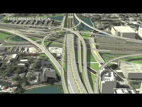 I-4 Ultimate Flyover Animation
