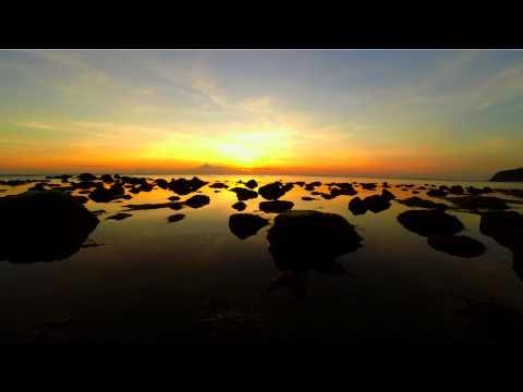 Sunset Time Lapse. Lombok