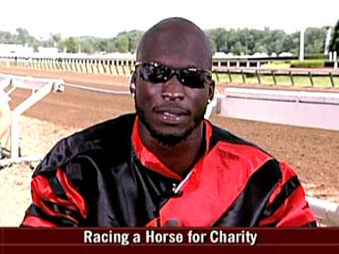 Chad Johnson BEATS horse in a race!!!