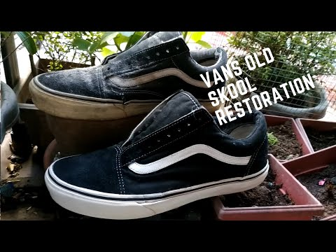UKAY SHOES / PATAPON SHOES RESTORATION : VANS OLD SKOOL