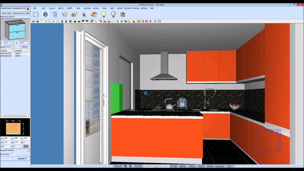 Como Desenhar Uma Ilha Em 3d Numa Cozinha Do Kdmax Www