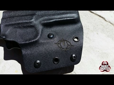 Crossfire Tactical Gear Kydex Holster Review ( as shown for the Ruger SR9 )
