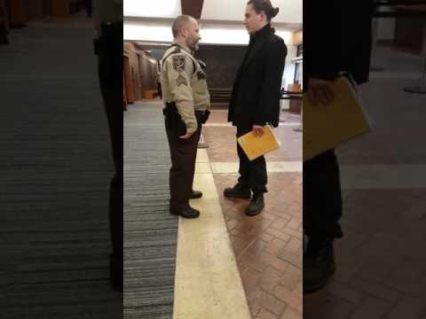 1st amendment test fail Dakota County courthouse part 1
