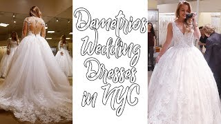 Wedding Series | Demetrios Dress Shopping at NYC Macy's Herald Square