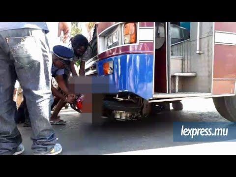 Bambous: collision entre un bus et une motocyclette