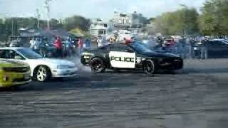 Matamoros Tamps camaro,mustang police 240 drift.MP4