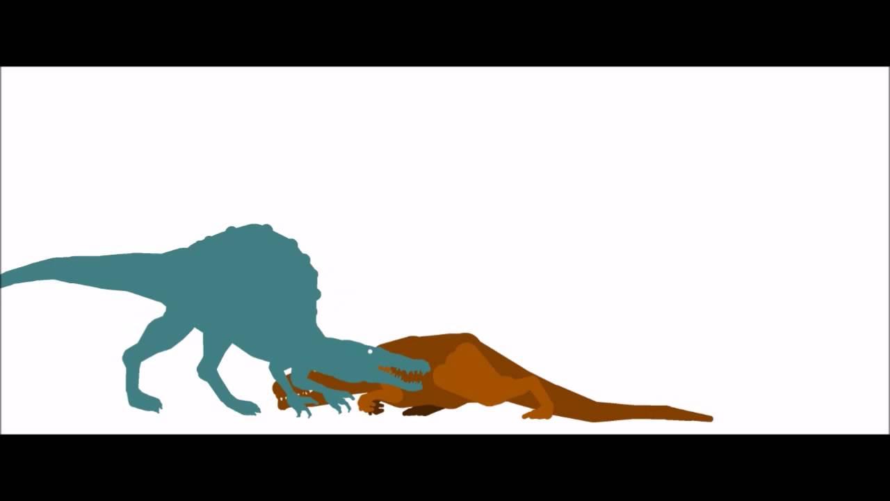 Spinosaurus VS Giganotosaurus (Read Description) - YouTubeGiganotosaurus Vs Spinosaurus Who Would Win