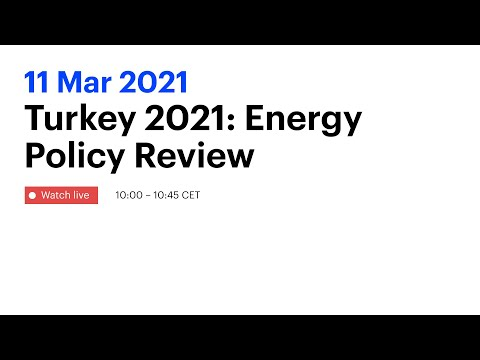 Turkey 2021: Energy Policy Review