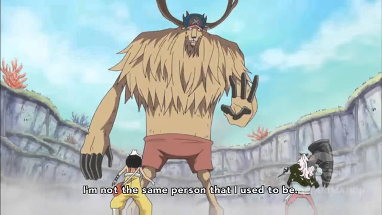 One Piece Chopper Human Form