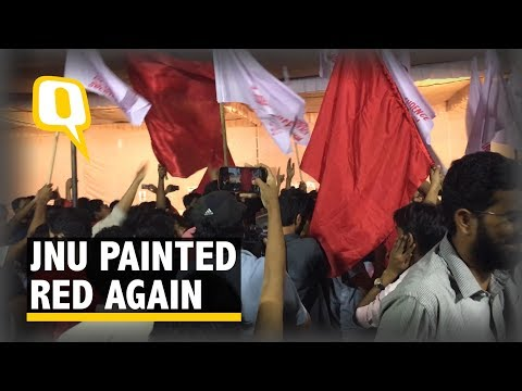 Left Sweeps JNU Polls Amidst Formidable Rise of ABVP, BAPSA - The Quint