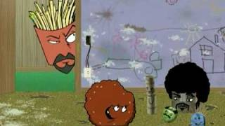 Aqua teen movie Promo meatwad and dolls