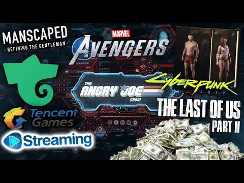 ajs-news--tlou2-sells-a-lot!,-cyberpunk-pubes-&-sizes,-avengers-war-table-reveal,-tencent-streaming?