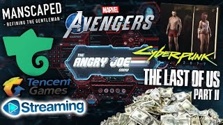 AJS News- TLOU2 Sells A LOT!, Cyberpunk Pubes & Sizes, Avengers War Table Reveal, Tencent Streaming?